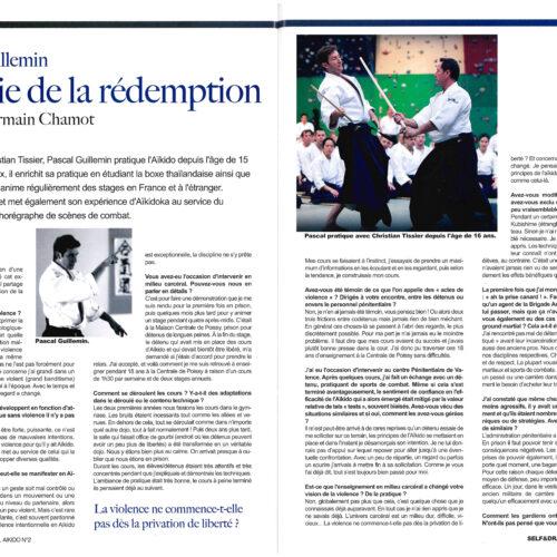 Interview de Pascal Guillemin par Germain Chamot dans Self & Dragon n°2 (juillet-août-septembre 2020), pp.54-56 1/2